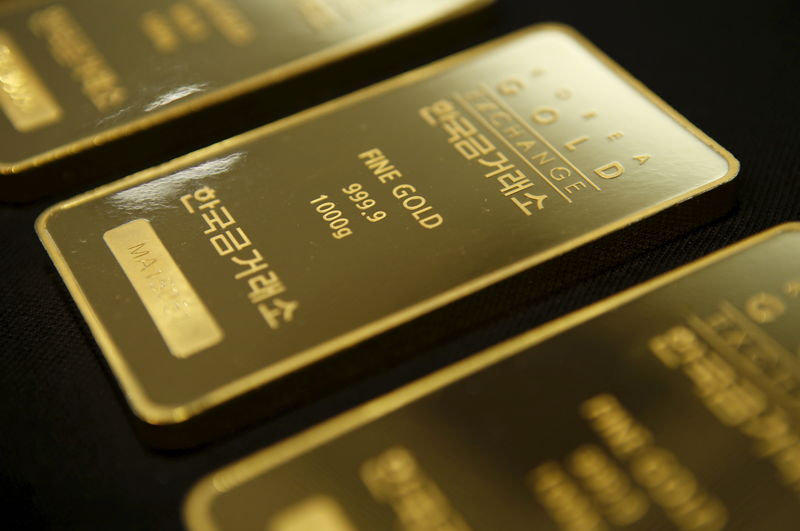 Futures emas lebih rendah pada masa dagang Asia